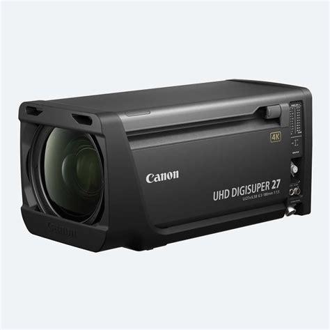 4k canon canon uj27 uhd digisuper 27 4k lens es broadcast hire