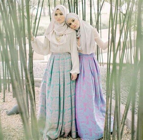 Baju Band Luar trend model busana muslim 2016 warna warna pastel paket