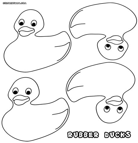 Coloring Pictures Of Ducks by Rubber Duck Coloring Pages Coloring Pages To