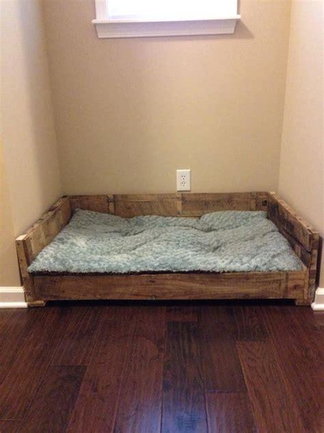 rustic dog bed rustic dog bed frame