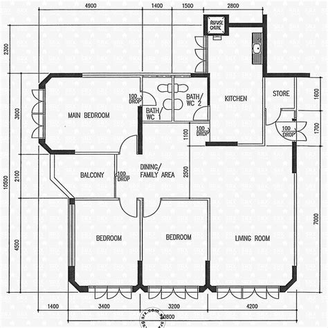hdb floor plans floor plans for jurong east street 21 hdb details srx
