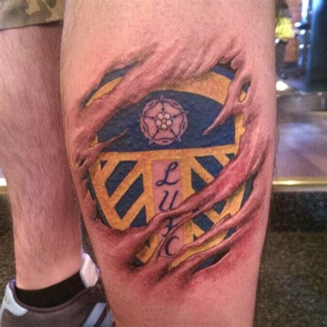 leeds united tattoo man vivid ink stafford on twitter quot chile tattoos this awesome