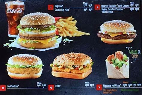 mcdonald s hill ca mcdonald s menu menu for mcdonald s richmond hill