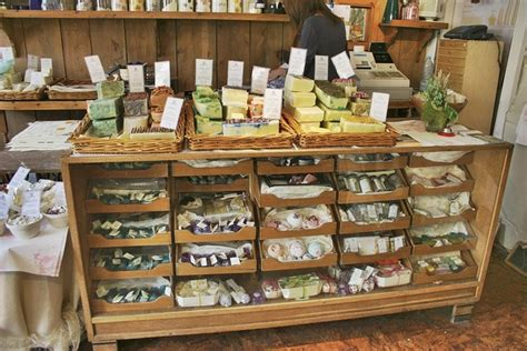 Shop Handmade - soap shop store windows displays