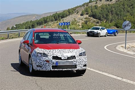 Opel Astra Hatchback 2020 by 2020 Opel Astra Wagon Spied With Mild Facelift Getting