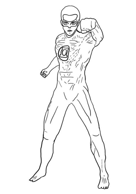 green lantern coloring pages green lantern coloring pages to and print for free