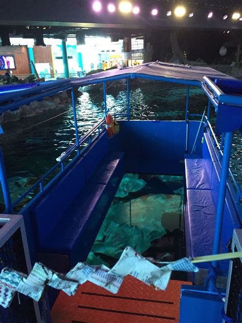 ripleys aquarium unveils  glass bottom boat  myrtle