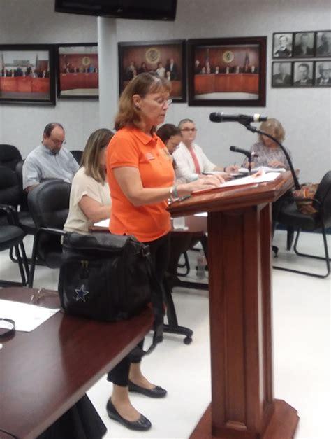 kocb receives support  commissioners court orange leader orange leader