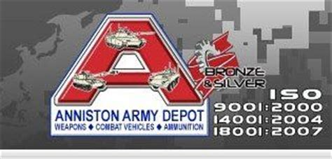 anniston army depot to ground thursday for major