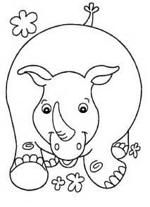 rhino coloring page rhino coloring pages coloringpagesabc