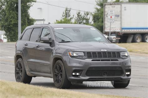 jeep trackhawk colors spied jeep grand cherokee trackhawk totally undisguised