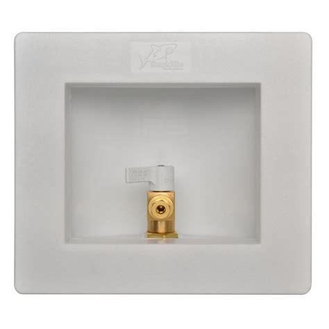 Plumbing Outlet Box by Sharkbite 1 2 In Maker Outlet Box 25032 The Home Depot