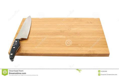planche cuisine bois couteau de cuisine en acier sur la planche 224 d 233 couper