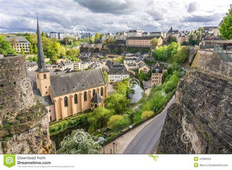 Lu City Z grund luxembourg city stock photo image of luxembourg
