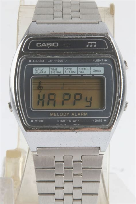 Casio Vintage Melody vintage ss casio melody alarm 82 m 1230 bangkokjunkman