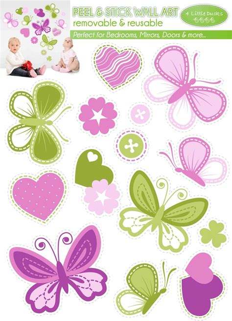 butterfly wall stickers products 4 little ducks baby