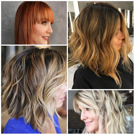 medium haircuts and color 2017 medium bob hairstyles hairstyle for