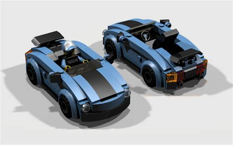 lego porsche minifig scale mod sports cars minifig scale lego town eurobricks