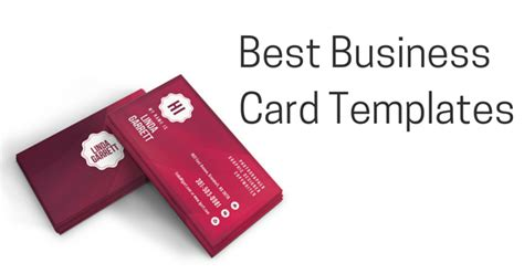 excellent business card templates 25 excellent business card templates for your own use