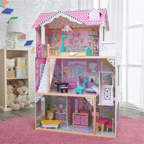 kid kraft doll house kidkraft annabelle toy dollhouse 65079 toy dollhouses at hayneedle