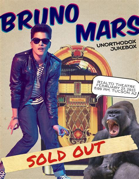 bruno mars new song 2015 mp3 download bruno mars poster katie rousos design