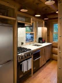 Cabin Kitchen Designs small log cabin kitchens houzz