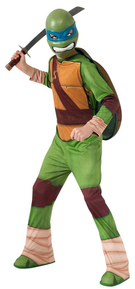 Dress Turtle Kid leonardo mutant turtle fancy dress costume ebay