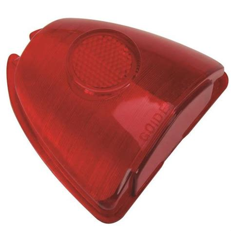 red plastic tail light material 1953 chevy stop and tail light lens red plastic ebay
