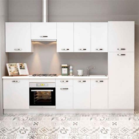 muebles de cocina baratos marta en color blanco muebles