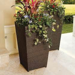 large garden decorative outdoor flower pots ideas garden