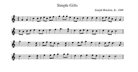 simple gift simple gifts a shaker song that went out into the world