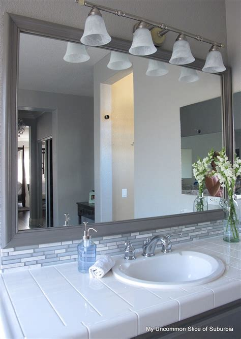 framing out a bathroom mirror how to frame out a mirror home