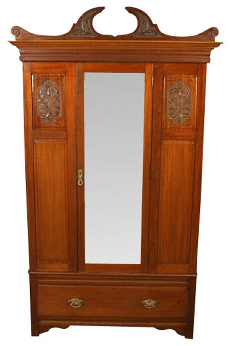 Bedroom Chests And Armoires by Antique Mahogany Wardrobe Armoire Traditional