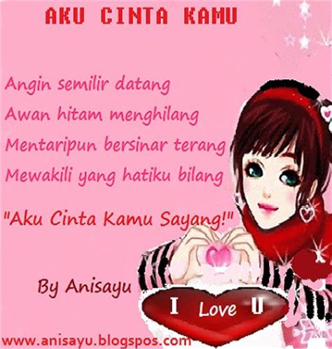 Aku Kamu Dan Hujan puisi cinta by anisayu sms puisi pantun menyatakan cinta