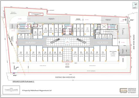 shopping center floor plan mpm timesquare mall