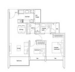 2 Bedroom Condo Floor Plan Condo Launch Singapore 2 Bedroom Condo Floor Plan