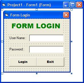 membuat form login sederhana dengan vb cara mudah membuat form login dengan visual basic vb net