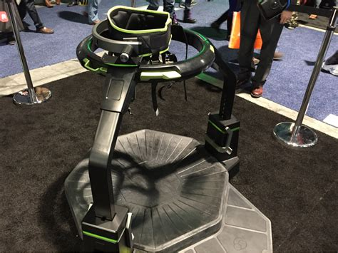 Omni Vr how do you move in reality with a treadmill like this one i just tried virtuix omni