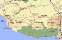 map of ojai california ojai valley photo gallery page 1