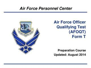 Air Officer Qualifying Test by Ppt Air Contracting Officer Warrant Procedures