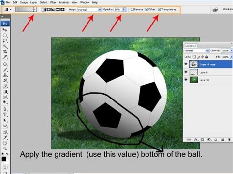 pattern photoshop football make a realistic football from scratch photoshop