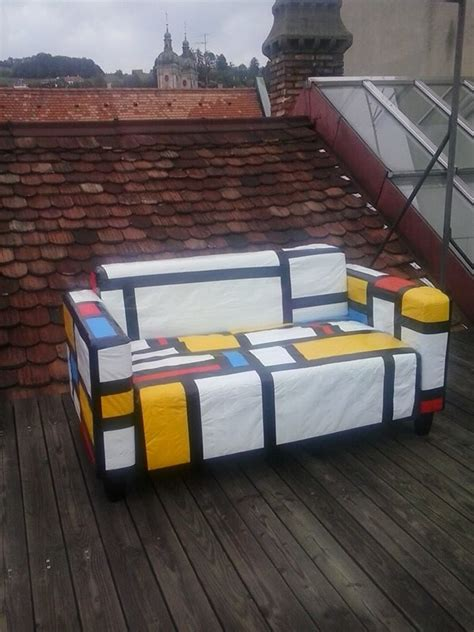 duct tape couch piet mondrian duct tape sofa neatorama