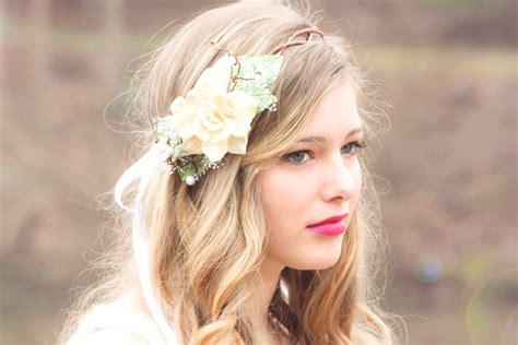 normal hair crown natural pine cone rose floral hair crown take my breath
