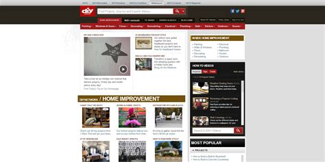diy network home improvement recognition