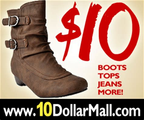 10 dollar mall shoes discount promotional coupons 10 dollar mall promotional