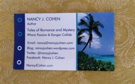 business card protocol 171 nancy s notes from florida
