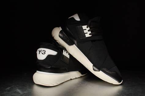 Adidas Y3 Qasa High Legit Us 85 adidas y 3 qasa high black white stasp