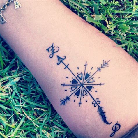 compass tattoo photo minimal compass finger tattoo fresh tattoo ideas