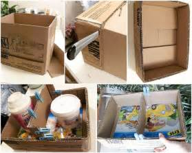 Diy Home Decorations Ideas by Cheap Diy Home Decor Idea Decorative Cardboard Wall Shelf
