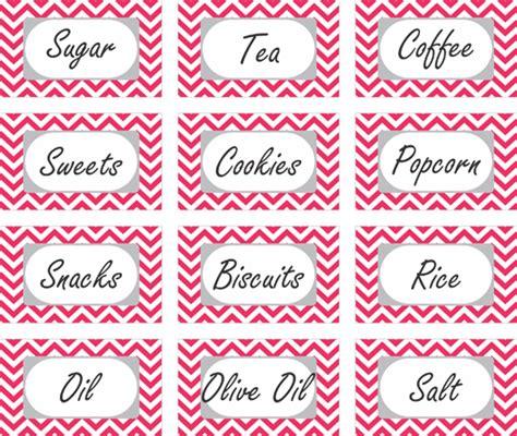 pretty kitchen  pantry labels kitty baby love
